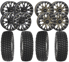 System3 SB 4 and System3 XCR350 UTV Wheel and Tire Kit