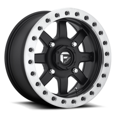 Fuel Trophy D105 Matte Black / Raw Ring 15x7