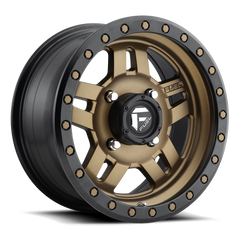 Fuel Anza D583 UTV Wheel / Bronze w/ Black Ring 14, 15 inch