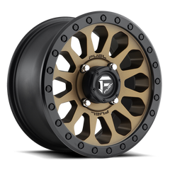 Fuel Vector D600 UTV Wheel / Bronze w/ Black Ring 14, 15 inch