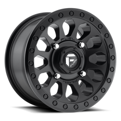 Fuel Vector D579 UTV Wheel / Matte Black 14, 15 inch