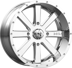 MSA M34 FLASH CHROME UTV WHEELS buy at planetsxs and snyderpowersports