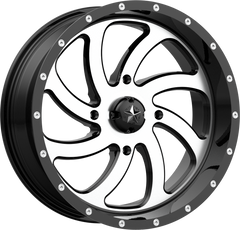 MSA M36 SWITCH BLACK MACHINED UTV WHEELS buy at planetsxs and snyderpowersports