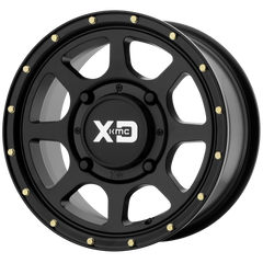 KMC XS134 Addict 2 Satin Black UTV Wheels