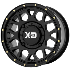 KMC XS135 Grenade UTV Wheel Satin Black