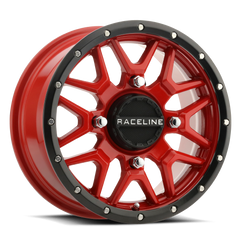 Raceline Wheels Krank UTV wheel in Bronze Red and Black