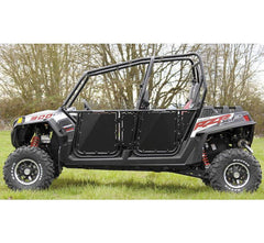 Modquad Suicide Doors for Polaris RZR Polaris Black Powder Coated Frame with Black Panel