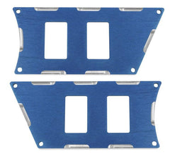 Modquad Switch Plate 4 Slot, Blue