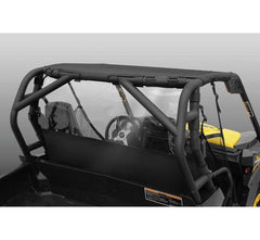 Vertically Driven Products Windstopper Solid Black Nylon with Clear Vinyl Window WindStopper w/Window