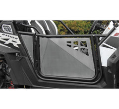 Modquad Suicide Doors for Polaris RZR Polaris Black Frame with Silver Panel