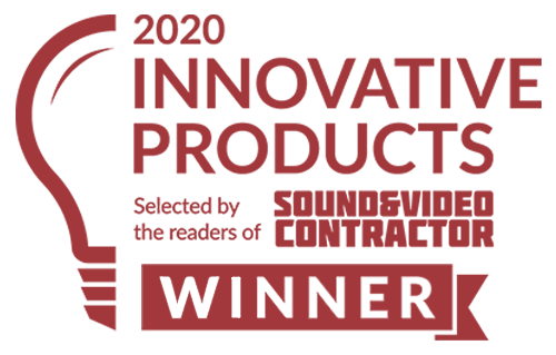 Sound & Video Contractor Innovative Products Award Winner 2020