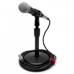 Pure Resonance Audio UC1S Ultra-Clear Dynamic Microphone with Mic Clip and 20ft Cable
