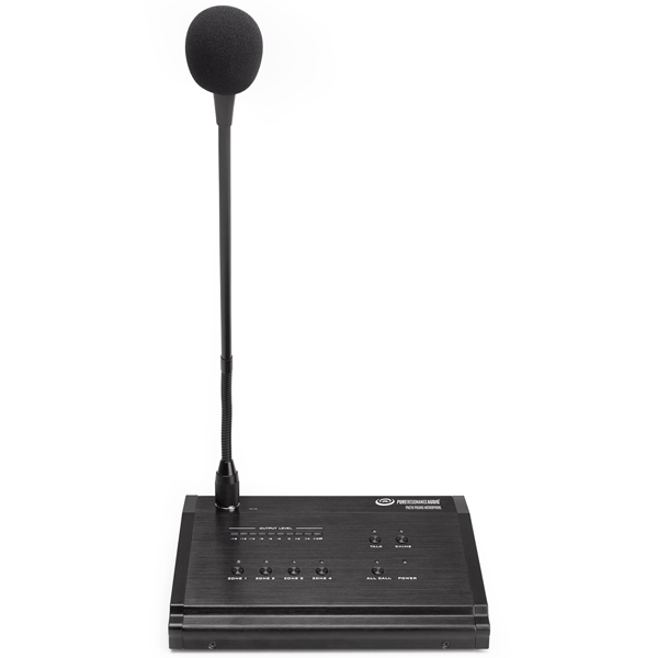 Pure Resonance Audio PMZ16 Remote Paging Microphone Station