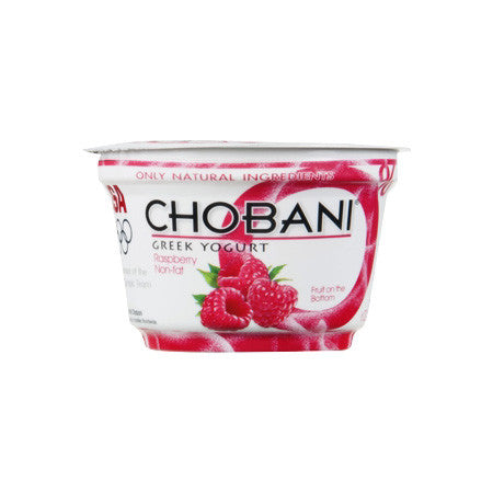 Chobani Raspberry Greek Yogurt