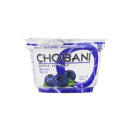 Chobani Blueberry Greek Yogurt