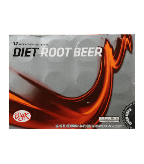 Big K Diet Root Beer (12pk)