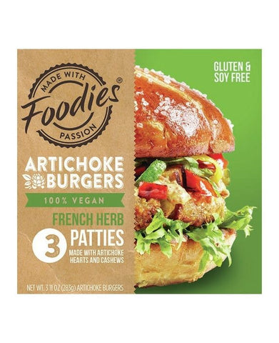Articoke Burgers French Herb Patties