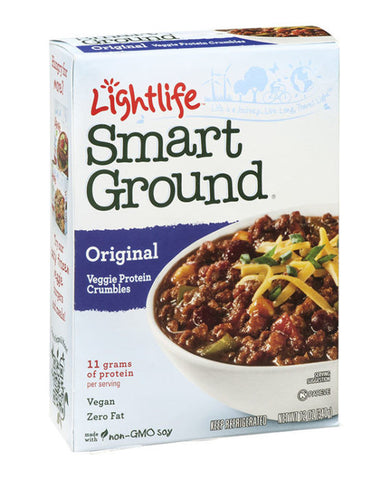 Lightlife Smart Ground Original Veggie Protein Crumbles
