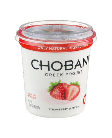 Chobani Non-Fat Strawberry Greek Yogurt   32oz