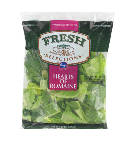 Fresh Selection Hearts of Romaine Salad