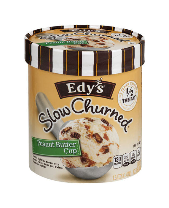 Edy's Slow Churned Peanut Butter Cup Ice Cream