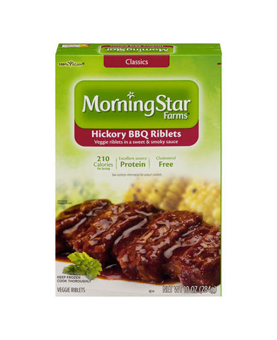 Morning Star Farms Hickory BBQ Veggie Riblets