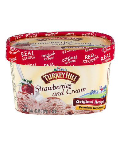 Turkey Hill Strawberries and Cream Ice Cream