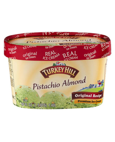 Turkey Hill Pistachio Almond Ice Cream