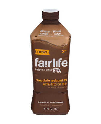 Fairlife Reduced Fat 2% Ultra-Filtered Milk Chocolate