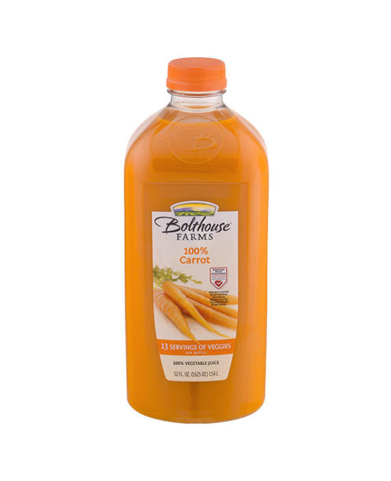 BoltHouse Farms 100% Carrot Juice   Large