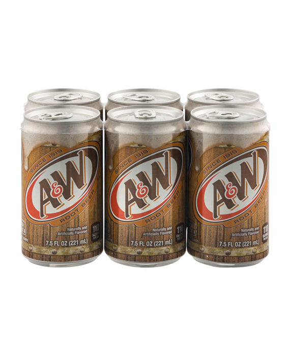A&W Root Beer (6pk Cans)