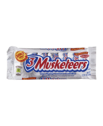 3 Musketeers Fun Size Chocolate   6pk