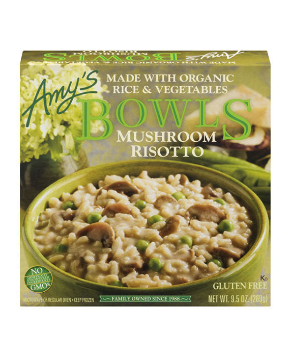 Amy's Mushroom Risotto Bowl