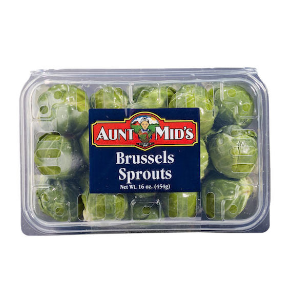 Aunt Mid's Brussels Sprouts   16oz