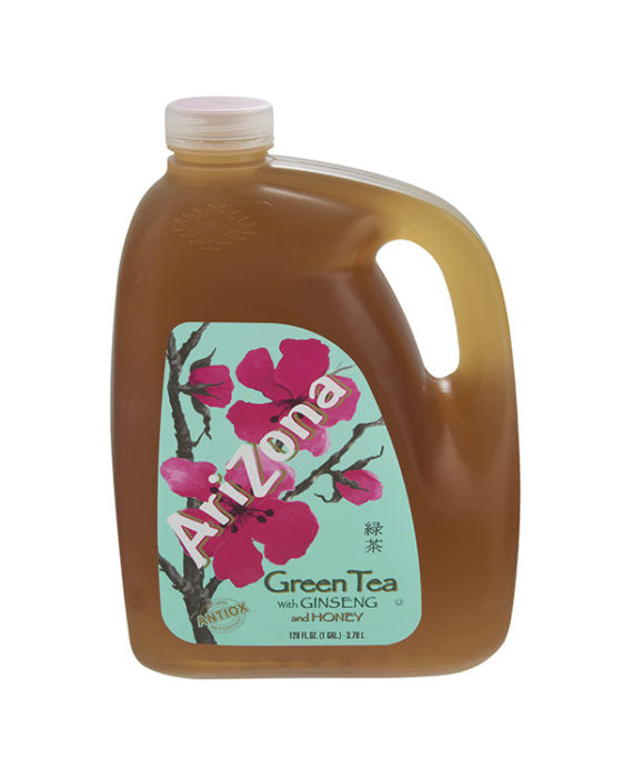 AriZona Green Tea with Ginseng & Honey (1gal)