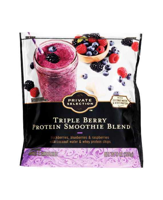 Private Selection Triple Berry Protein Smoothie