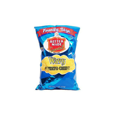 Better Made Wavy Potato Chips Family Sized