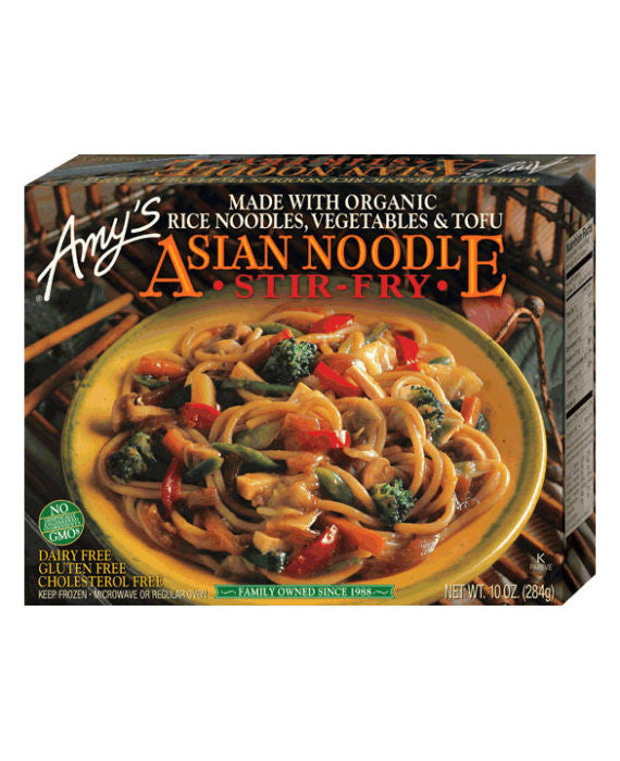 Amy's Asian Noodle Stir Fry