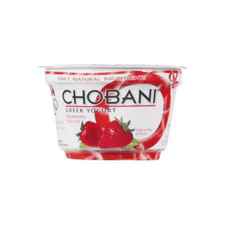 Chobani Strawberry Greek Yogurt