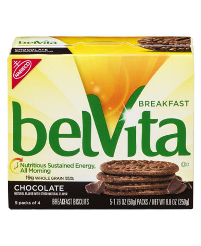 belVita Breakfast Biscuits Chocolate