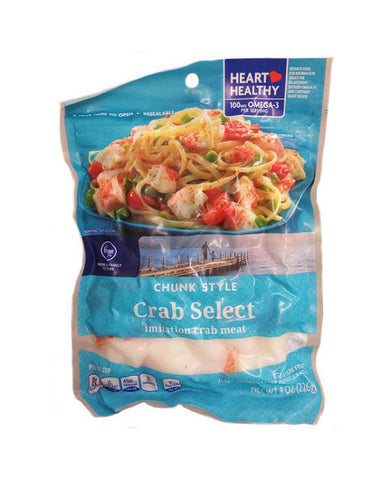 Kroger Chunk Style Crab Select Imitation Crab Meat