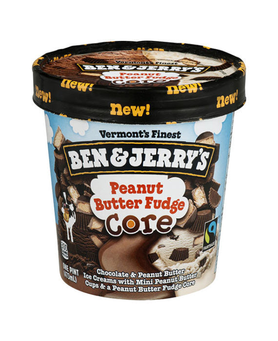 Ben & Jerry's Peanut Butter Fudge Ice Cream