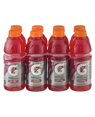 Gatorade G Fruit Punch   8pk