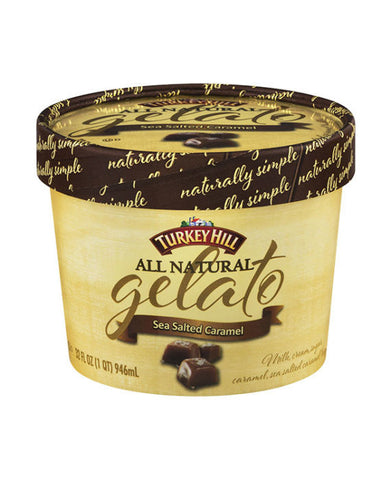 Turkey Hill Sea Salted Caramel Gelato