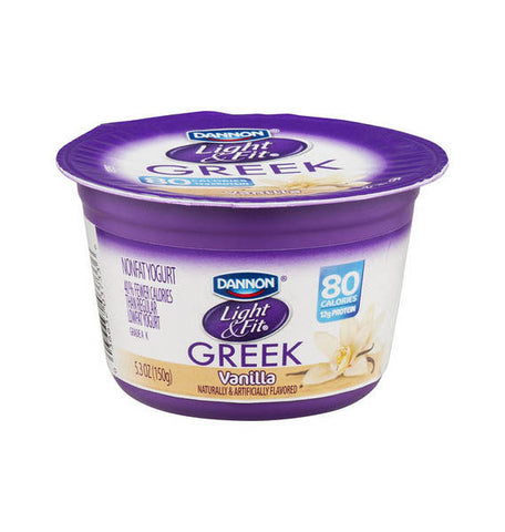 Dannon Light & Fit Nonfat Vanilla Greek Yogurt