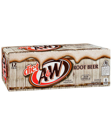 A&W Diet Root Beer (12pk)