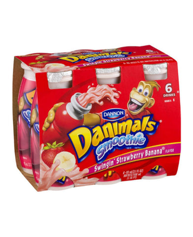 Danimals Smoothie Swinging Strawberry Banana