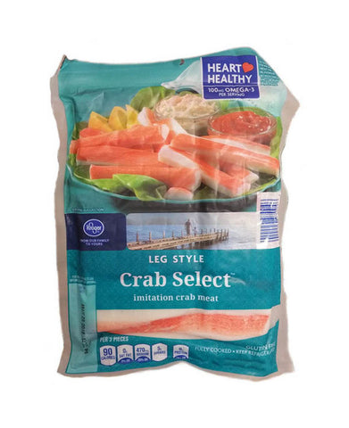 Kroger Leg Style Crab Select Imitation Crab Meat