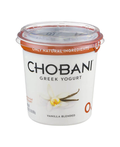 Chobani Non-Fat Vanilla Greek Yogurt   32oz
