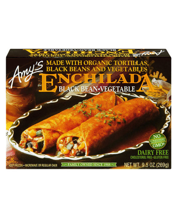 Amy's Enchilada Black Bean Vegetable